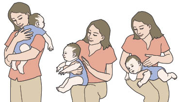 3 Positions For Burping Your Baby